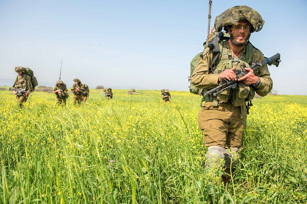 Kfir Infantry Brigade in Northern Israel by Matan Portnoy, Israel Defense Forces [CC BY-NC 2.0] via Flickr
