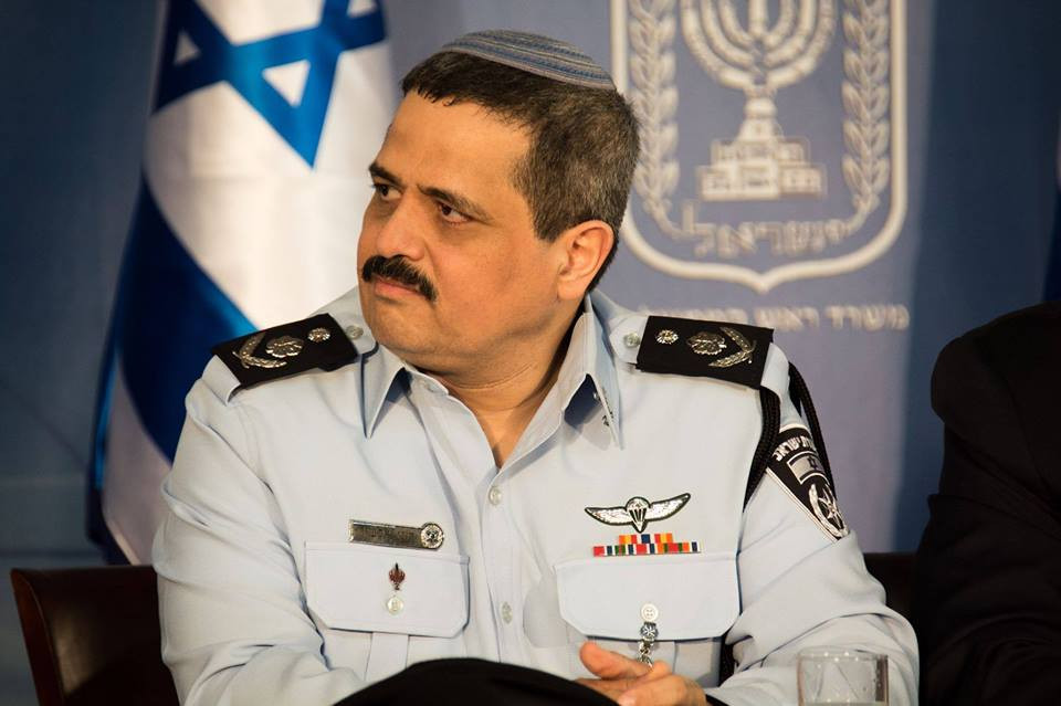 Roni Alsheich, Commissioner of Police (Image credit: Israeli Police Spokesperson (מאת דוברות משטרת ישראל) is licensed under CC BY-SA 3.0)