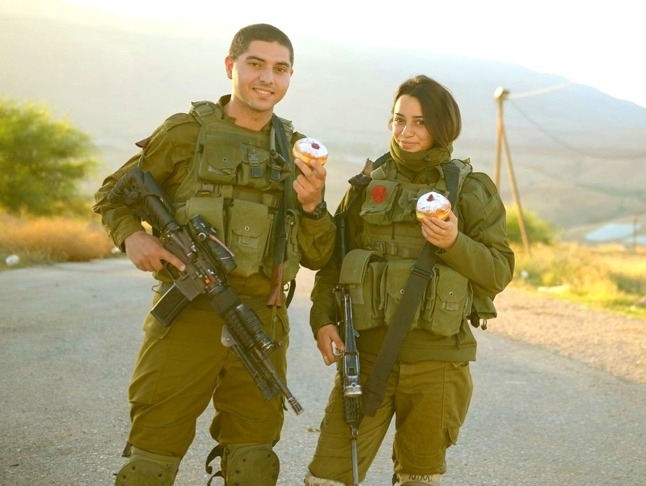 Illustration: IDF Soldiers Celebrate Hanukkah by Israel Defense Forces [CC BY-NC 2.0] via Flickr