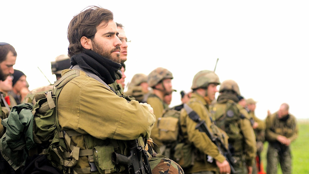 Illustration: IDF Reservists, by Israel Defense Forces [CC BY 2.0] via Wikimedia