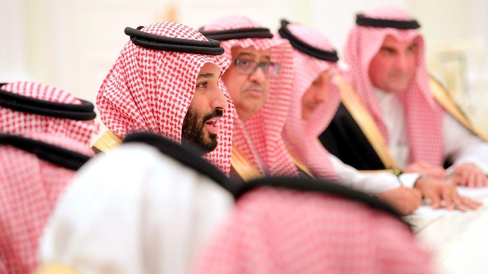 Illustration: Deputy Crown Prince Mohammad bin Salman Al Saud of Saudi Arabia by The Office of The President of Russia [CC BY 4.0 Int'l] via The Kremlin
