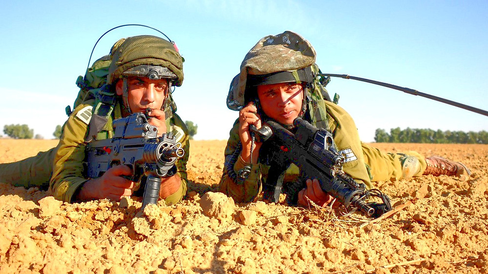 Illustration: IDF Soldiers Near Gaza Border by Amit Shechter, IDF Spokesperson Unit [CC BY-NC 2.0] via Flickr