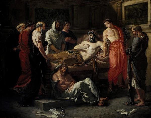 Marcus Aurelius Antoninus by Delacroix