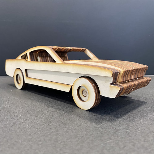 Kit voiture en bois
