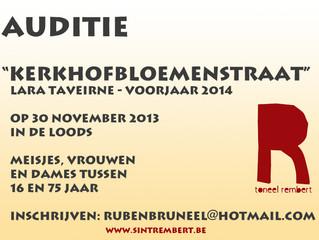 Auditie - 30 november 2013