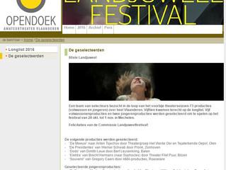 Driftkop op Landjuweelfestival 2016