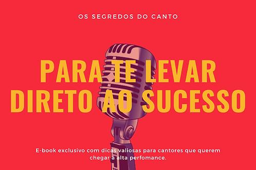 E-book Os Segredos do Canto