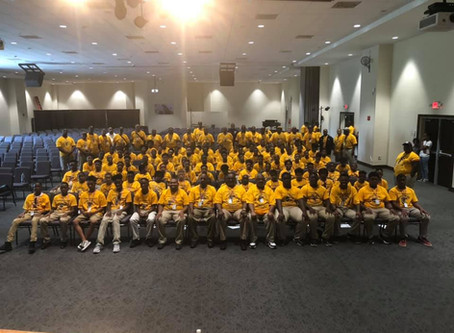 "2019 Young Men's Empowerment Leadership Conference ""I AM THE CHANGE"""