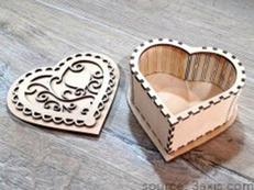 Decorative Heart Box