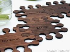 Puzzle Piece Coaster