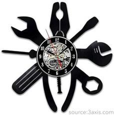 Repair Tools Clock