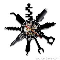 Repair Shop Wall Clock.