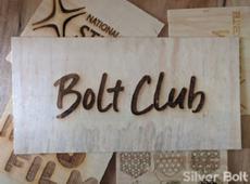 Bolt Club Sign