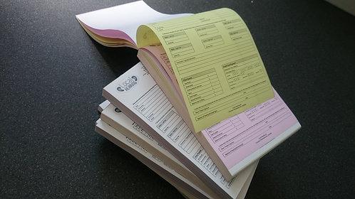 Buy A5 NCR Duplicate Pads, Get Perforating, Numbering FREE