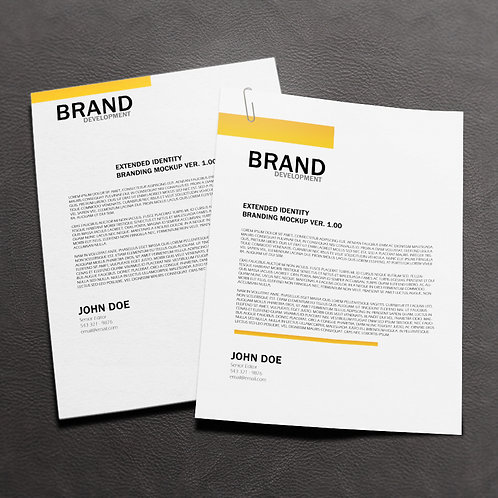 A4 Recycled Letterheads