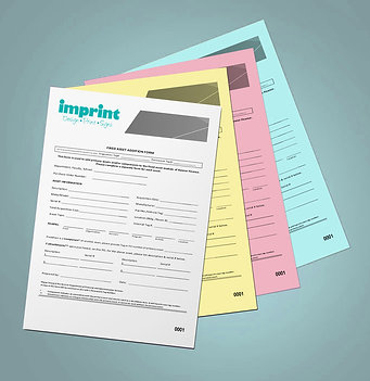 Buy A4 NCR Duplicate Pads, Get Perforating, Numbering FREE