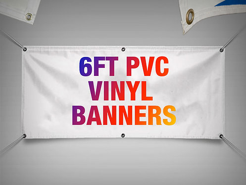 Vinyl PVC Banners (Suitable for Indoor & Outdoor Use)