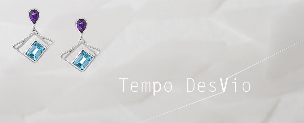 coleção tempo desvio brinco kamen prata ametista topázio swiss
