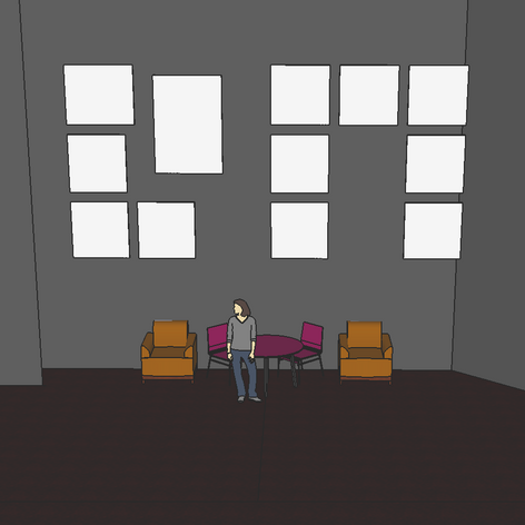 Early concept SketchUp
