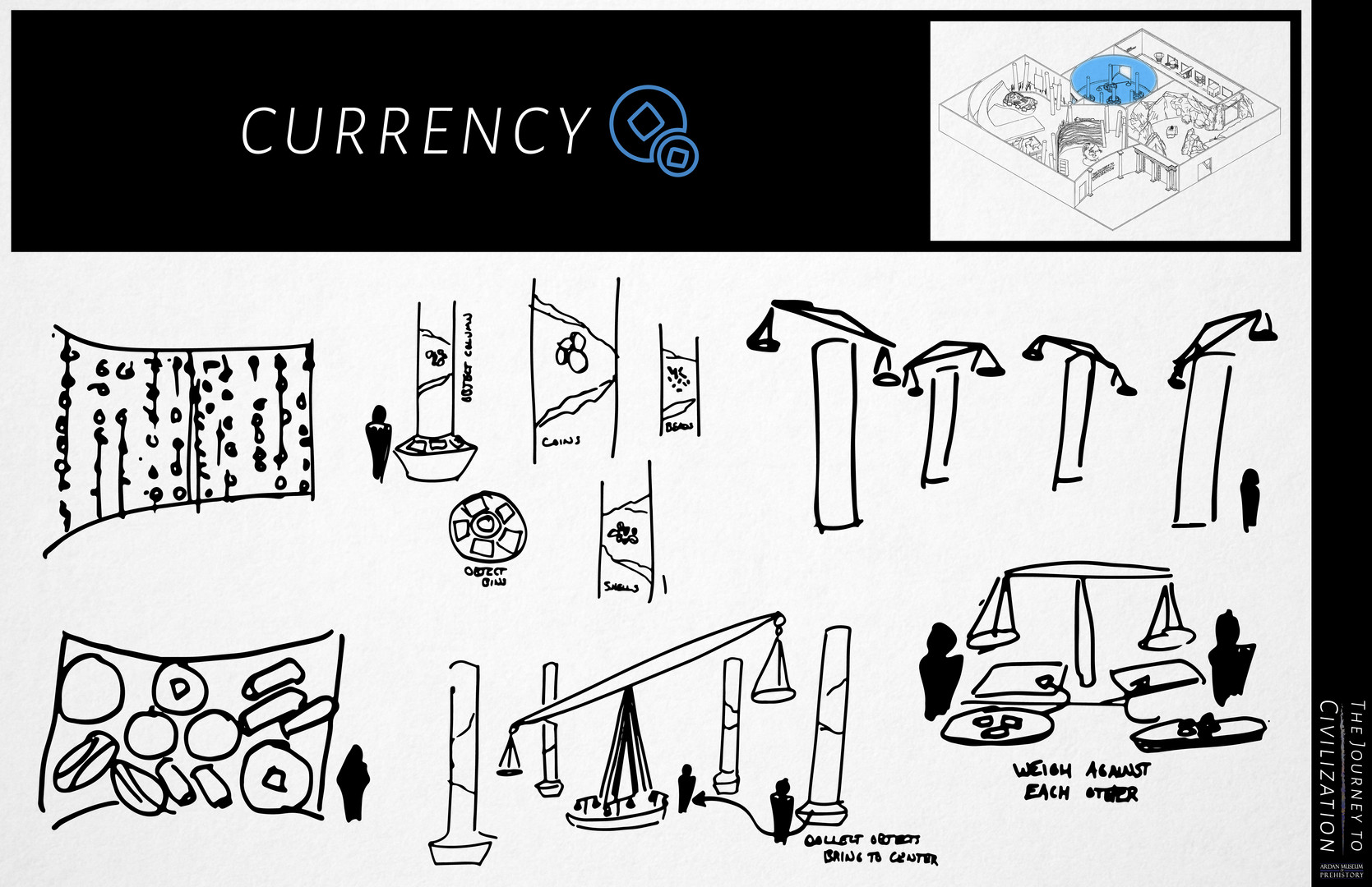 Currency Sketch Page