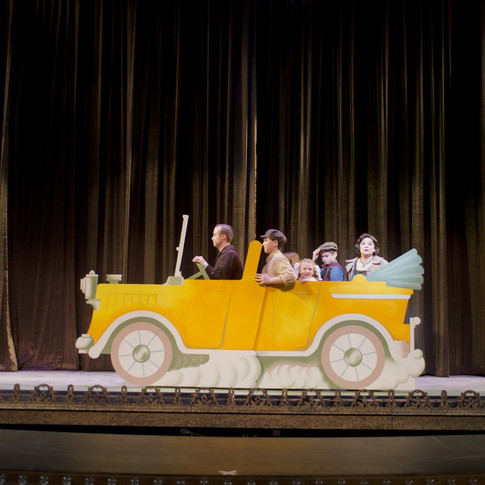 Gypsy - Scenic Artist - Car on Stage