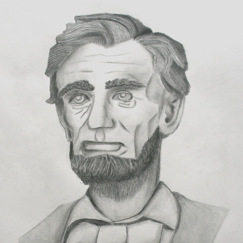 Hand Drawn Abraham Lincoln
