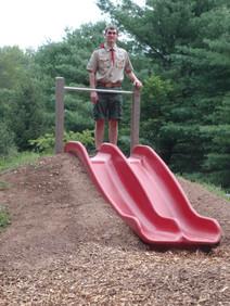 Churchville Nature Center Hill Slide