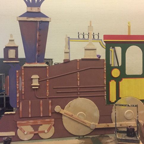 Hello Dolly - Scenic Artist - Train