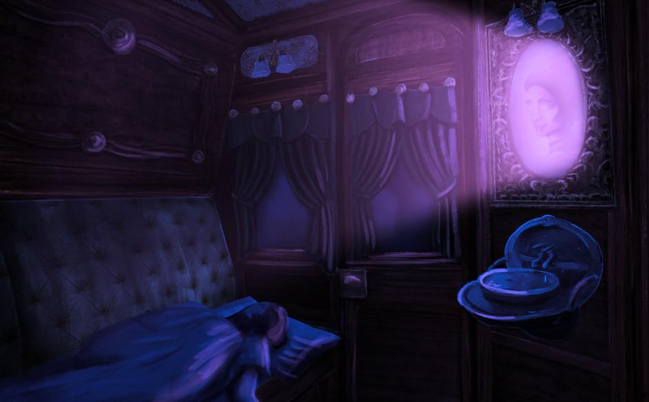 Sleeping Cabin - Night