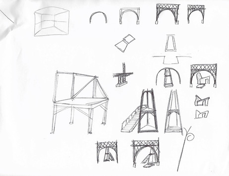 Early sketch concepts