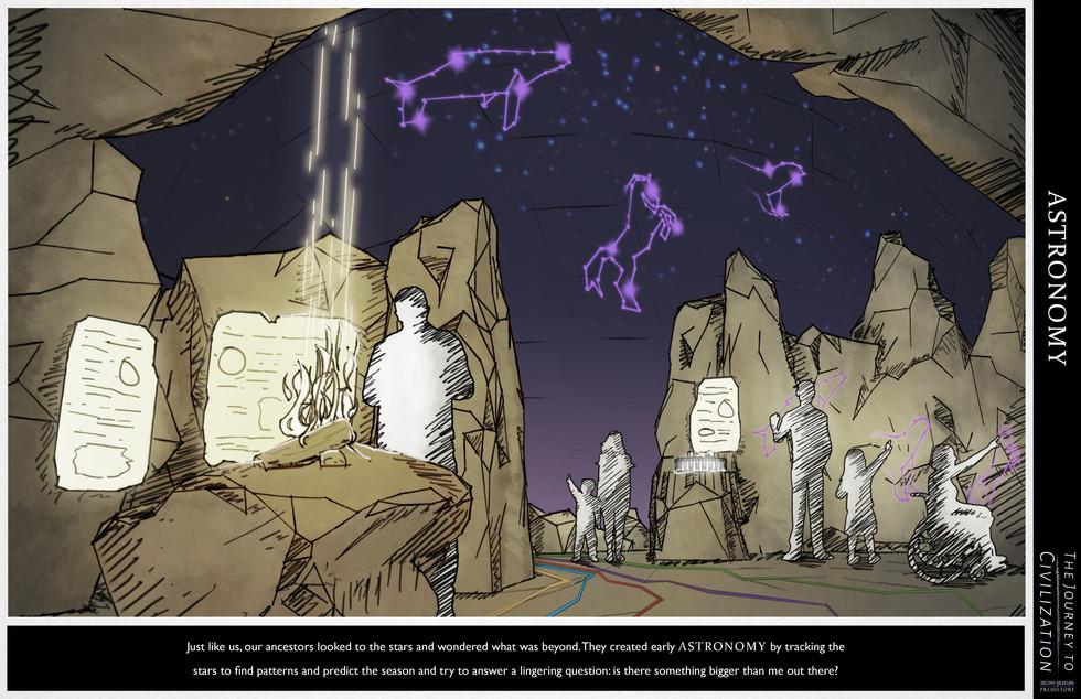 Astronomy Concept Render