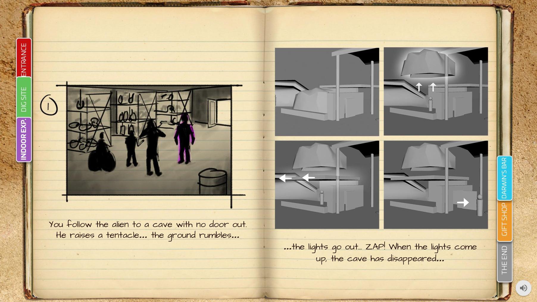 Final Reveal - Storyboard