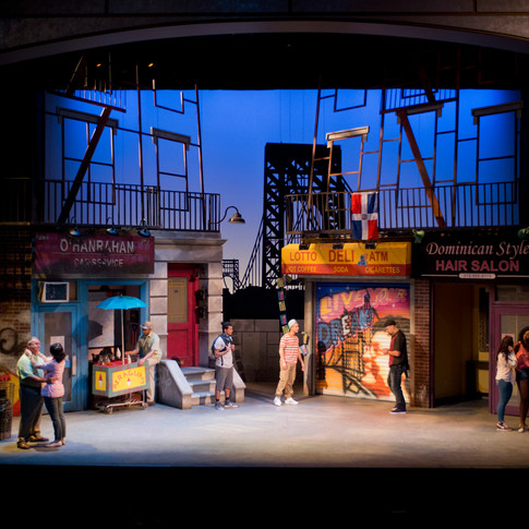 In The Heights - Scenic Artist
