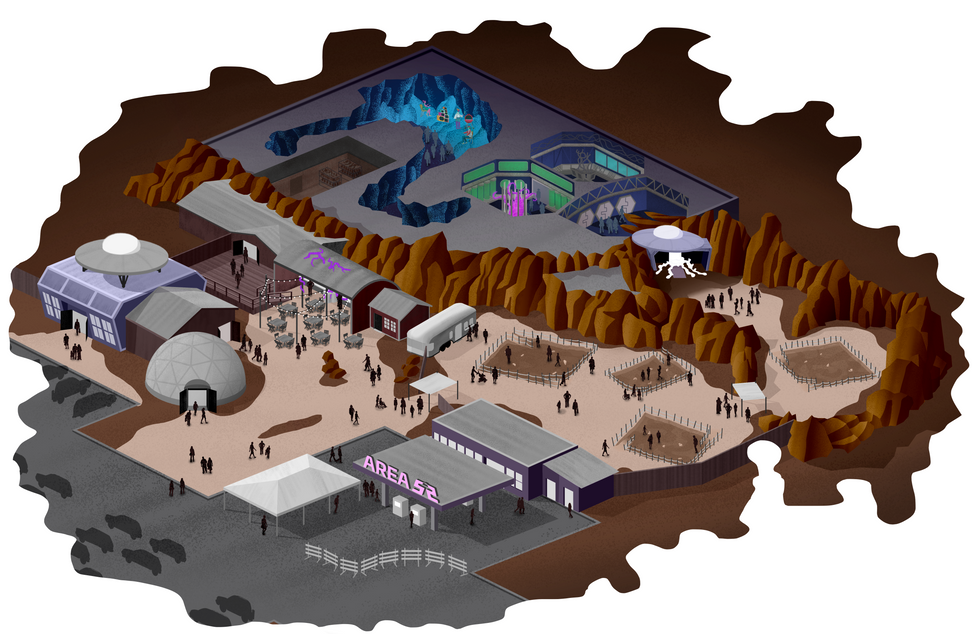 Overall Area 52 Map