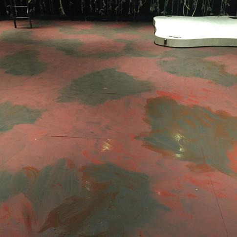 Floor treatment base layer