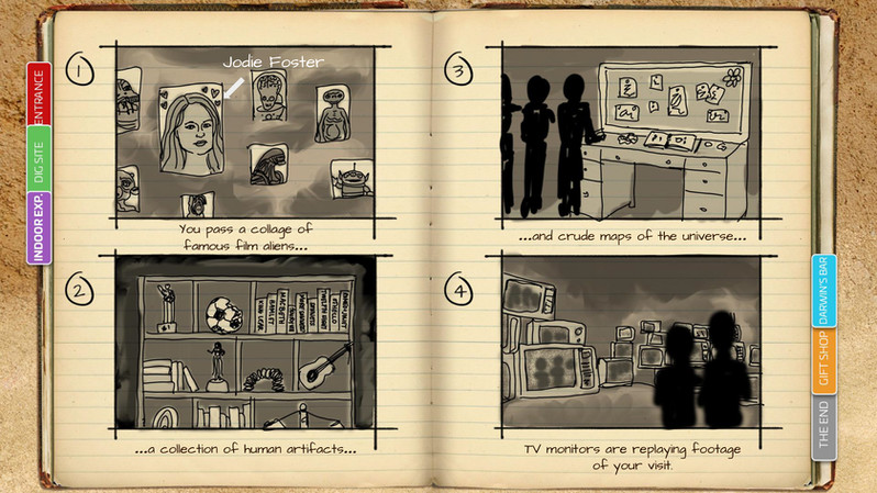 Cave - Storyboards