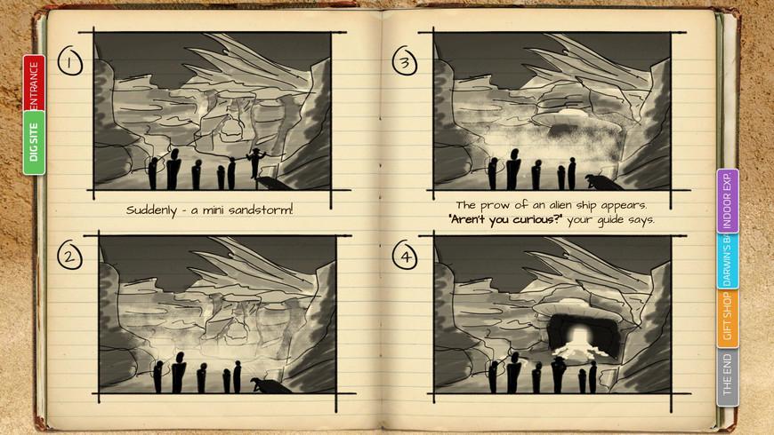 Reveal Storyboard