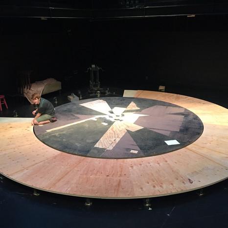 turn table installation