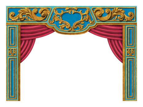 Toy Theatre Proscenium