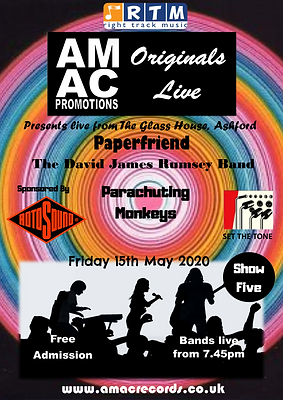 AMAC Promotions show 5 - Poster version.