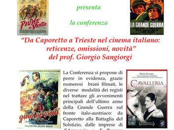 Da Caporetto a Trieste nel cinema italiano:  reticenze, omissioni, novità
