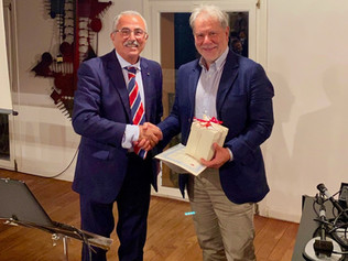 Onorificenza all'Ing. Francesco Bernardi (*) Presidente di Illumia