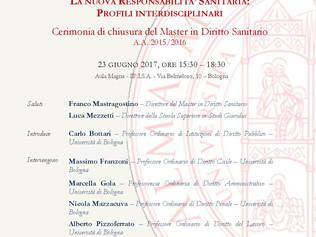 Convegno - La nuova responsabilita' sanitaria: profili interdisciplinari