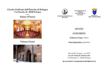 Concerto con Federica Giani e Anna Quaranta