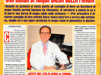 Prof. Dino Vaira: il medico spiega come prevenire e curare la dilatazione dello stomaco.