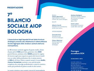 Presentazione 7° Bilancio Sociale AIOP Bologna
