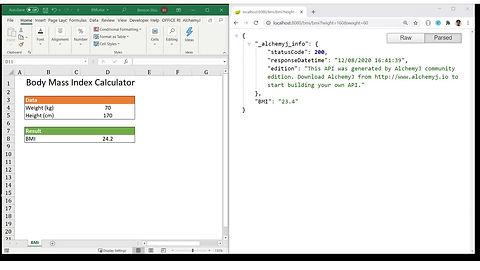 Convert Excel Workbook into REST API