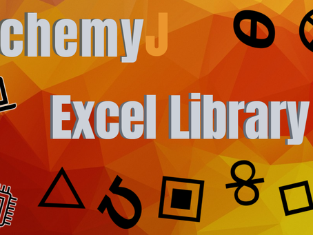 Introducing the New AlchemyJ Excel Library