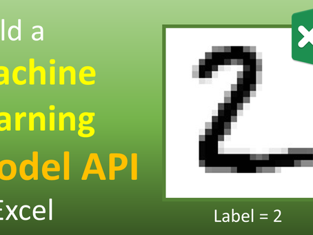 Build a Machine Learning Model API in Excel