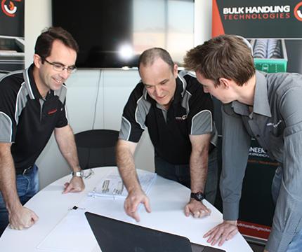 Bulk Handling Technologies Engineering Team